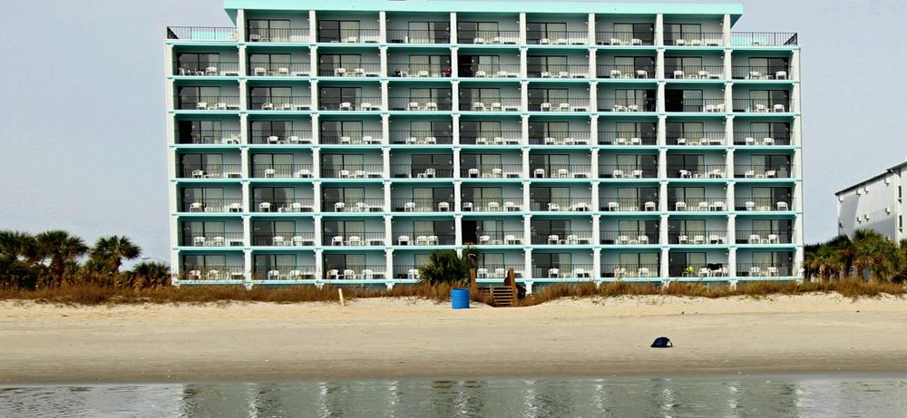 Tropical Seas Oceanview Hotel Myrtle Beach Oceanfront Hotels